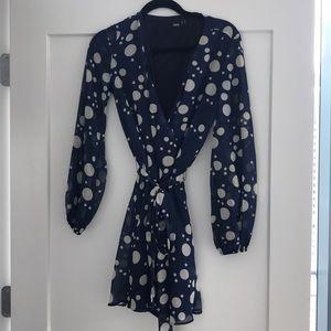 Navy Asos Dress